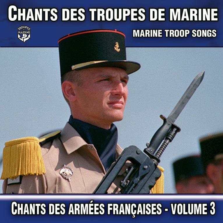 Musique militaire :Chants des Troupes de Marine