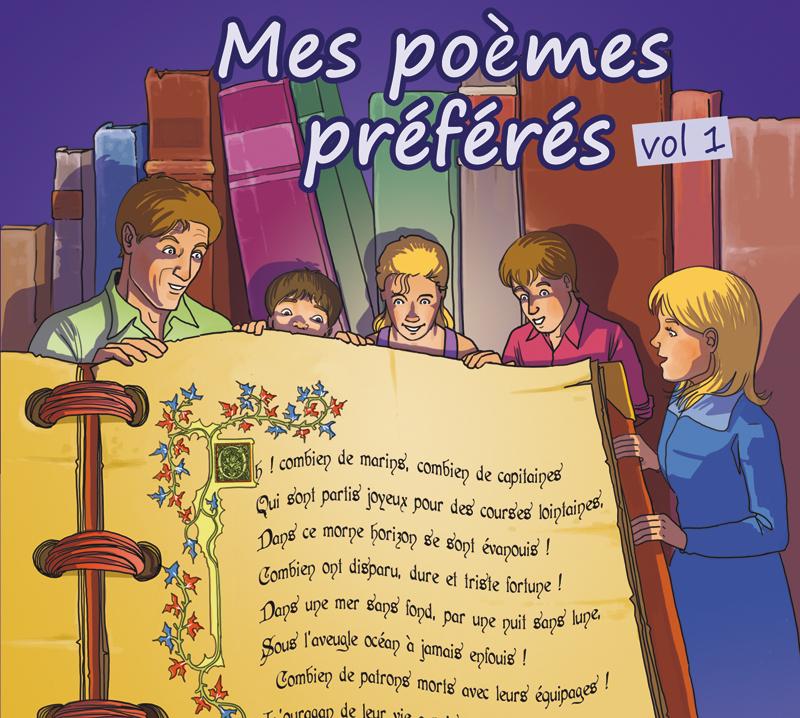 Mes poèmes préférés vol1
