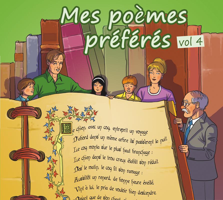 Mes poèmes préférés vol4