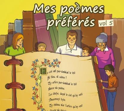 Mes poèmes préférés vol5